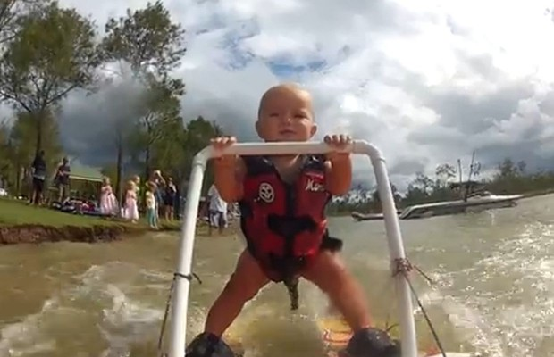 Youngest Water Skier Ever