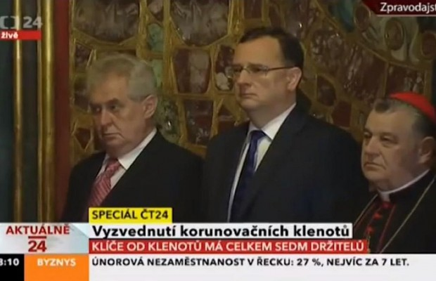 Was The Czech President Drunk At This Official Ceremony?