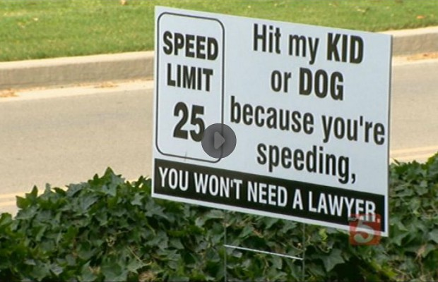 Franklin Grandmother Has Had Enough Of Speeders