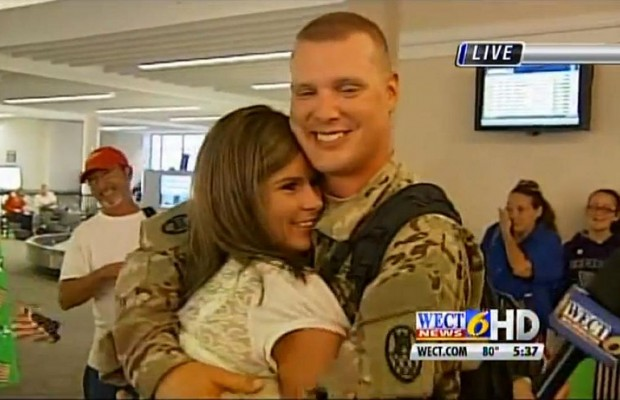 Wife Surprises Army Husband With Over 100 Pound Weight Loss