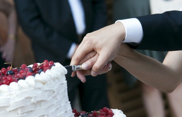 This Wedding Cake Is Proof That Marriage Takes Compromise
