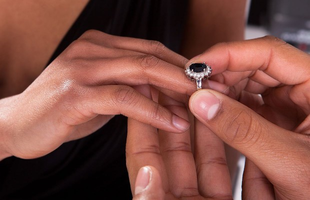 New Wedding Trend! Splitting The Cost Of The Engagement Ring!