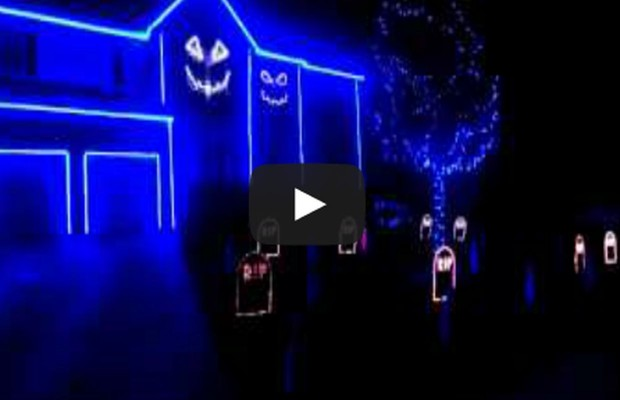 Halloween Light Show