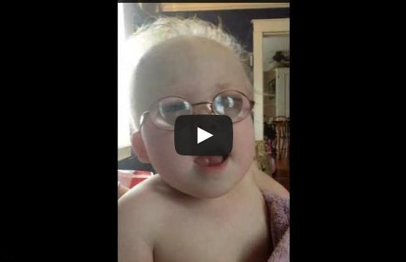 Toddler's Renditions of National Anthem Is Adorably Amazing!