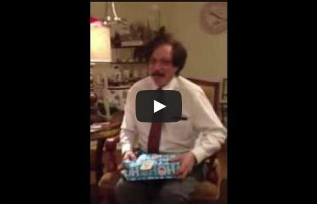 """Grown Man Reacts With Childlike Glee To """"Ultimate Christmas Gift"""""""