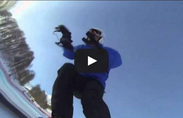 Amazing First Person Video Of The Olympic Downhill Ski Course