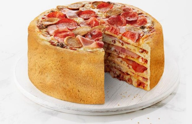 How About A Pizza Cake?