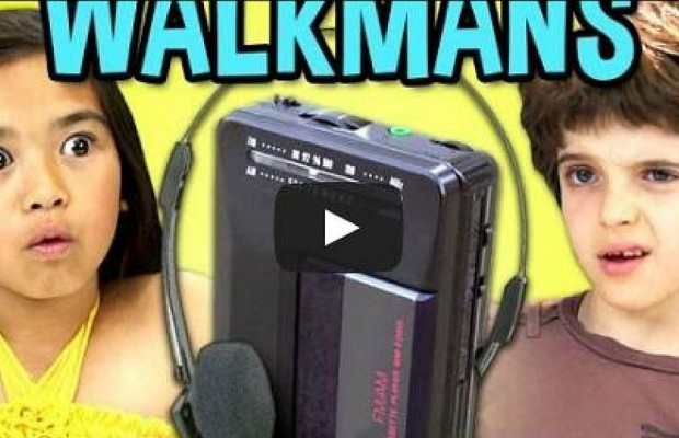 These Adorable Kids Have Never Seen A Walkman Before!