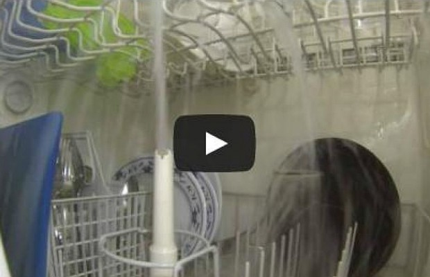 A GoPro In A Dishwasher