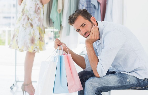 25 Men Who Have Lost The Battle Against Shopping
